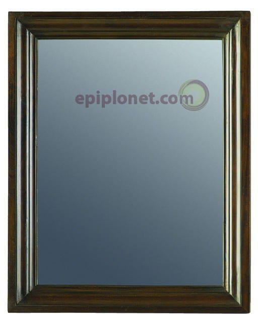 Καθρέφτης από Μασίφ Μαόνι Φουρνιστό  JMI 29 σε Απλό Σχέδιο