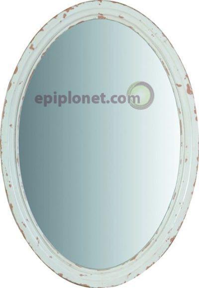 Καθρέφτης απο επεξεργασμένο ξύλο καπλαμά J-142515