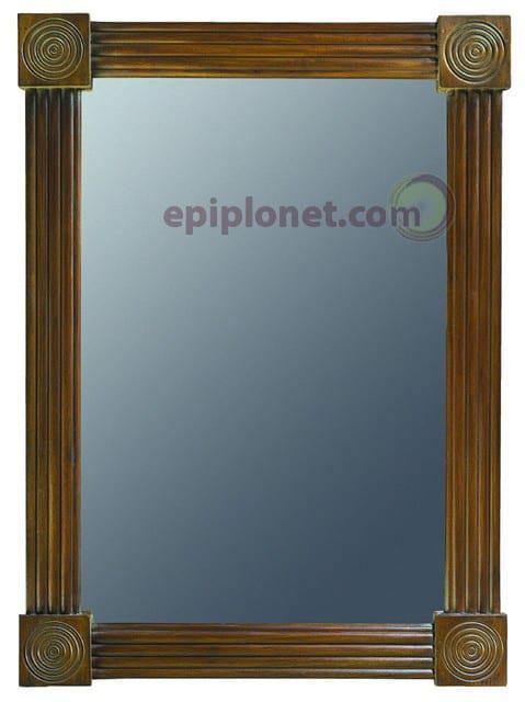 Καθρέφτης από Μασίφ Μαόνι με Σκαλίσματα JMI 27