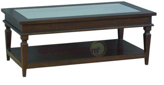 Τραπεζάκι Σαλονιού από Μαόνι JTB198 121004