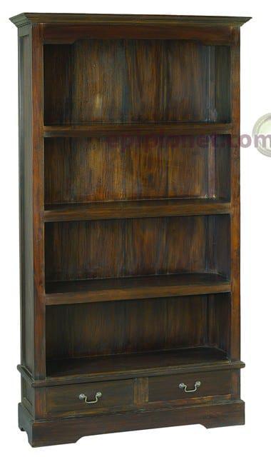 Βιβλιοθήκη Κλασσική από Μασίφ Μαόνι J-126501
