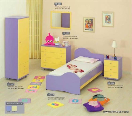Παιδικό Δωμάτιο Μελαμίνης 03