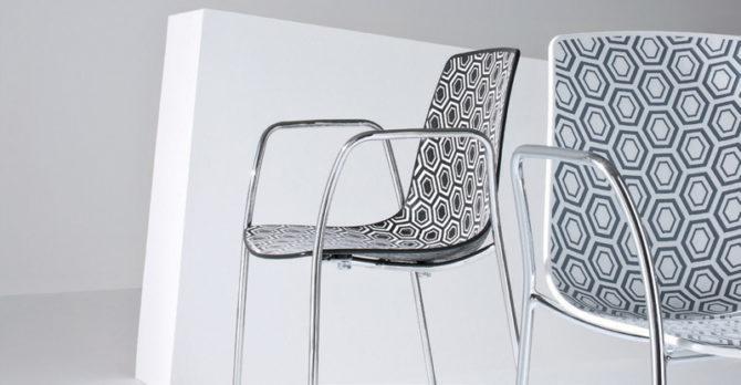 Πλυθρόνα με γεωμετρικά σχήματα Alhabra από την Gaber