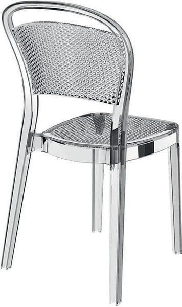 Καρέκλα εξωτερικού χώρου διάφανη πολυκαρμπονική Baron