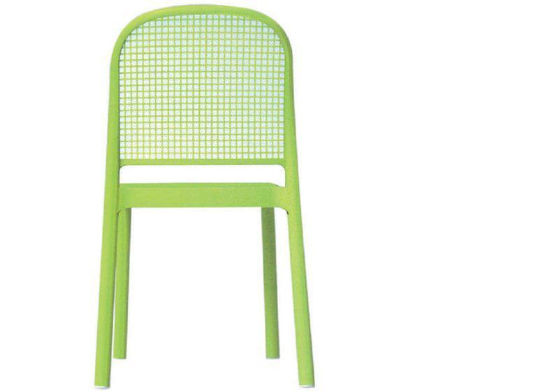 Καρέκλα με διάτρητη πλάτη σε πολλά χρώματα απο την Gaber Panama