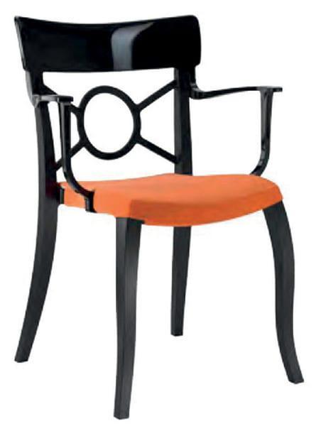 Καρέκλα πλαστική δίχρωμη κατάλληλη για επαγγελματική χρήση Rainbow