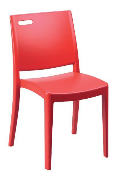 Καρέκλα για τον κήπο ή τη βεράντα πλαστική σε πολλά χρώματα Clip απο την Grosfillex