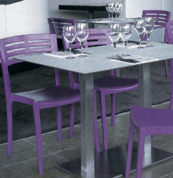 Καρέκλα πλαστική ιδανική για τον κήπο ή τη βεράντα σας A-Urban
