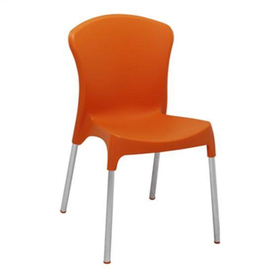καρέκλα πλαστική για καφετέρειες Kent