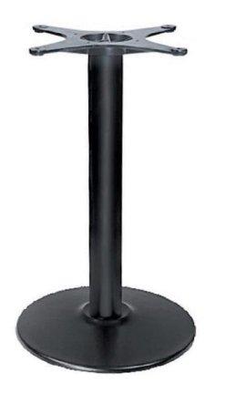 Μαντεμένια στρογγυλή βάση σε μαύρο χρώμα ΤΒ-101