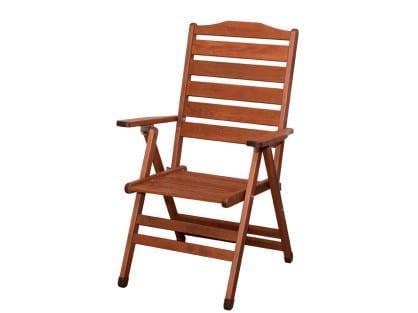 Καρέκλα εξωτερικού χώρου με μπράτσα τριών Θέσεων KO-1042