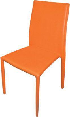 Καρέκλα ντυμένη ολόκληρη με σκληρό PVC