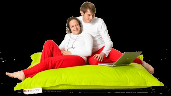 Αναπαυτική μαξιλάρα πουφ σε πολλά χρώματα Basic