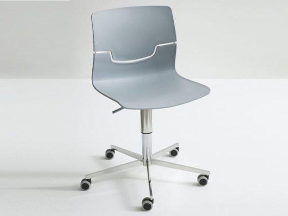 Τροχήλατη καρέκλα με μοντέρνο design απο την Gaber Slot-5r