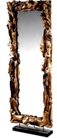 Ολόσωμος καθρέφτης απο θαλασσόξυλα 142520