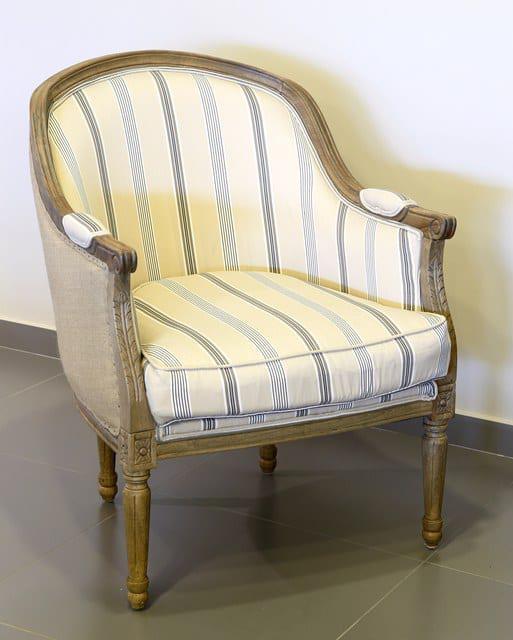 Πολυθρόνα με Ριγέ Ύφασμα J-132552
