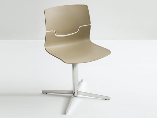 Εντυπωσιακή καρέκλα απο την Gaber με βάση σε σχήμα σταυρού Slot-L