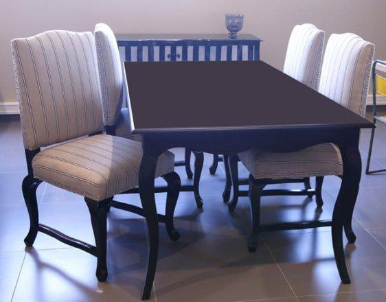 Τραπέζι απο ξύλο μαόνι σίσαμ J-145016
