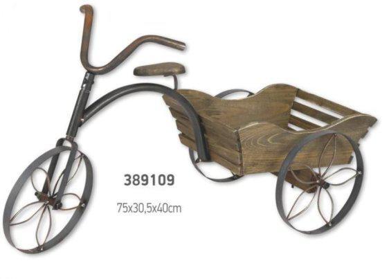 Ποδηλατάκι ξύλινο διακοσμητικό 389109