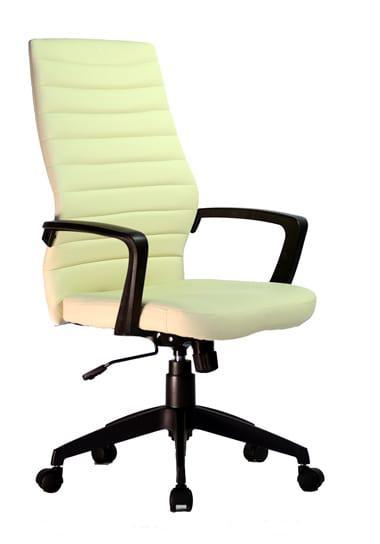 Καρέκλα γραφείου με μπράτσα και με μαλακό κάθισμα σε μπεζ χρώμα D-SLN648 B