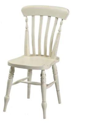 Καρέκλα απο πατίνα για τραπεζαρία  J-135027