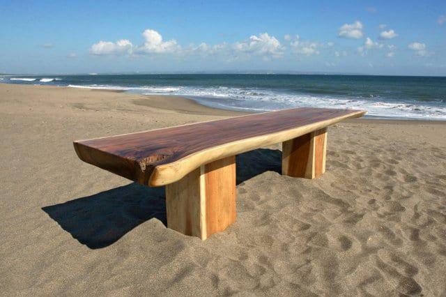 Τραπέζι Τραπεζαρίας από Μασίφ Κορμό Δέντρου J-146501