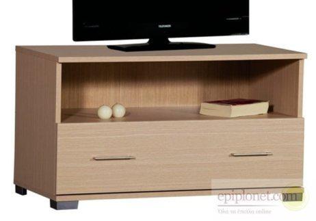 Επιπλο tv με 1 συρτάρι 90*45*51εκ ύψος A-130057