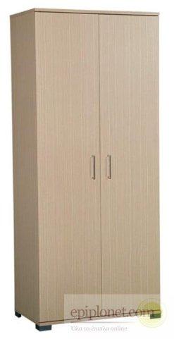 Ντουλάπα με 2 πόρτες 187*80*58 A-203555
