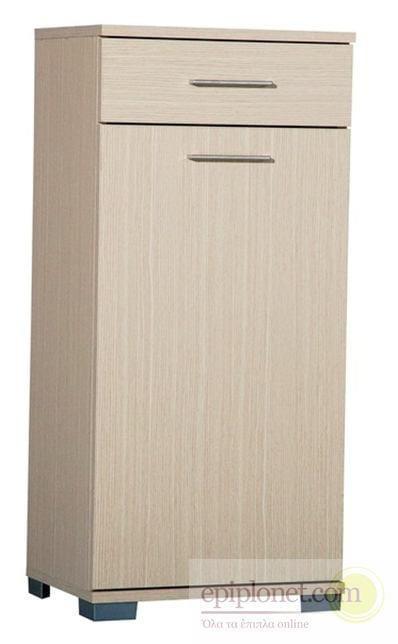 Πολυντουλάπα με 1 πόρτα 1 συρτάρι και 1 καλάθι 45*35*97 εκ.ύψος Α-270610