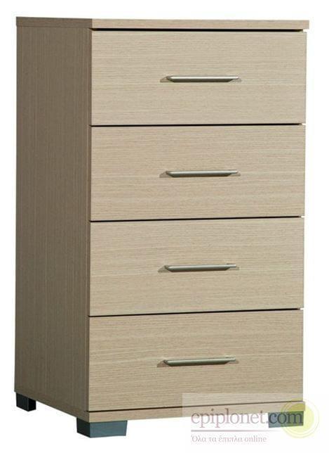 Συρταριέρα με 4 συρτάρια 45*45*79 εκ.ύψος Α-270247