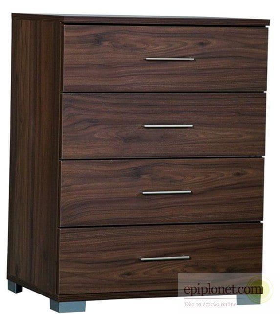 Συρταριέρα με 4 συρτάρια 60*45*79 εκ.ύψος Α-270246