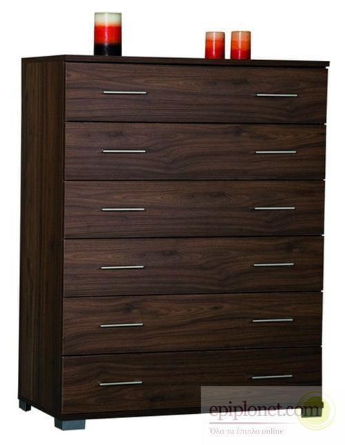 Συρταριέρα με 6 συρτάρια 90*45*115 εκ.ύψος Α-270254