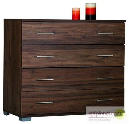 Συρταριέρα με 4 συρτάρια 90*45*79 εκ.ύψος Α-270258