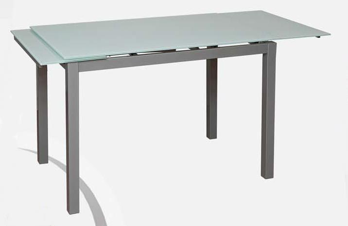 Επεκτεινόμενο Τραπέζι Κουζίναs Γυαλί kouts-2101, Διαστάσεις:70x110+60