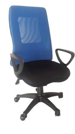 Καρέκλα Γραφείου Με Μεγάλη Διχτυωτή Πλάτη Και Ανάκλιση A-080338