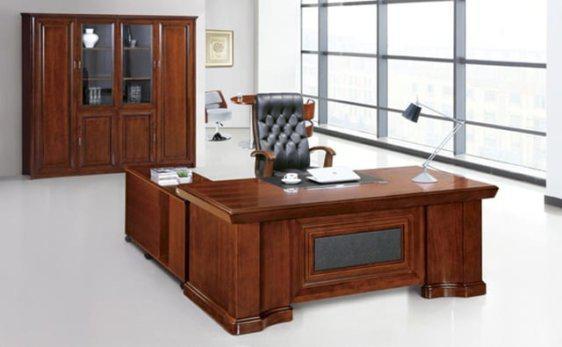 Μεγάλο Διευθυντικό Γραφείο με δέρμα G-271041