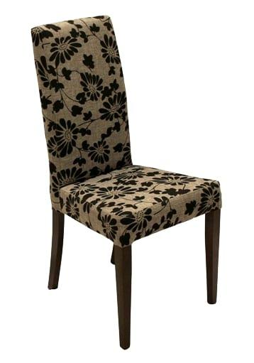 Ντυμένη με ύφασμα επιλογής σας καρέκλα σαλονιού K-190304