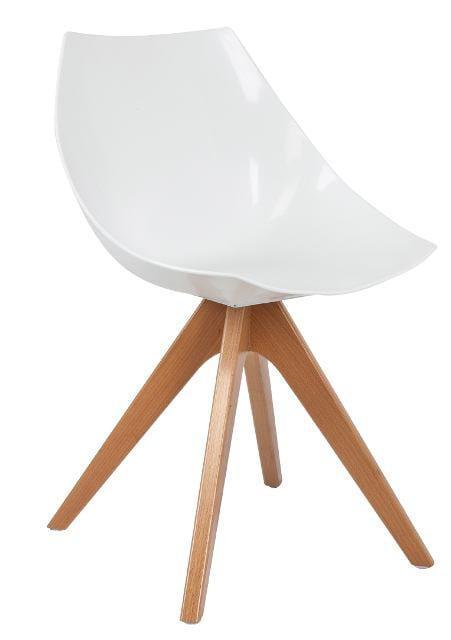 Καρέκλα κουζίνας πολυκαρμπονική V-190343