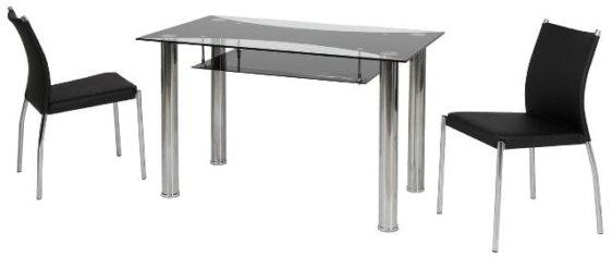 Τραπέζι γυάλινο V-140221