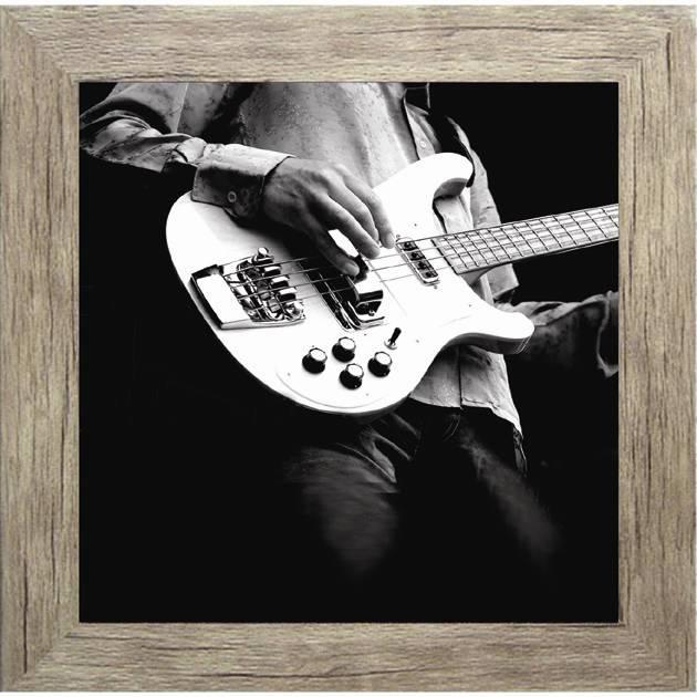 Πίνακας ζωγραφικής  με ηλεκτρική κιθάρα σε κάδρο 35Χ35εκ. Μ-14713