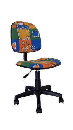 Πολύχρωμη Παιδική Καρέκλα Γραφείου A-080334