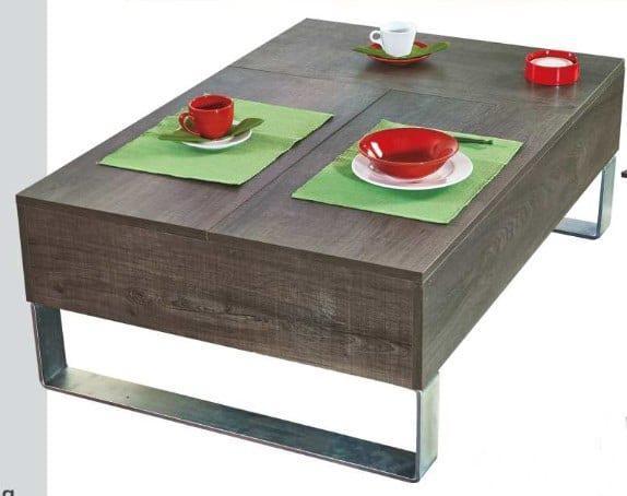 Τραπέζι σαλονιού με καπάκια που ανασηκώνονται Α-112506