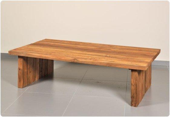 Μακρόστενο χωριάτικο τραπέζι σαλονιού μασίφ J-146519