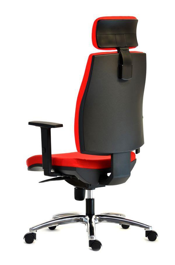 Επαγγελματική πολυθρόνα γραφείου με προσκέφαλο D-080343