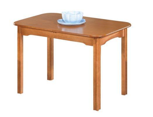 Τραπέζι Κουζίνας Ξύλινο Ανιγκρέ Kouts-224, Διαστάσεις:70x120+35