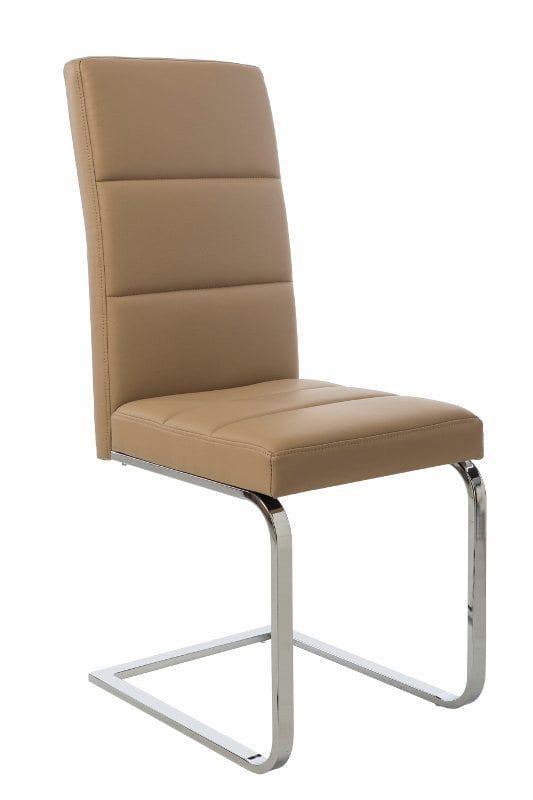 Καρέκλα κουζίνας με αναπαυτικό κάθισμα με δερματίνη V-190320