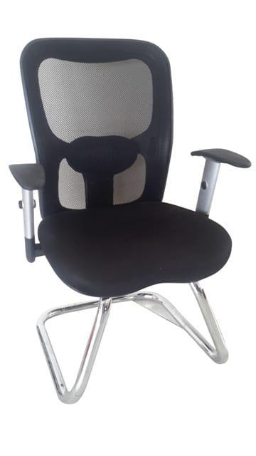 Καρέκλα Επισκέπτου Με Μαύρη Διχτυωτή Πλάτη A-080314
