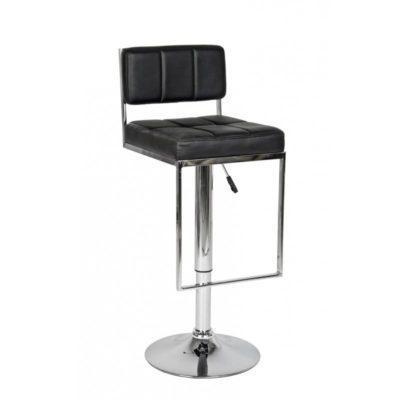 Σκαμπό- μπαρ με καπιτονέ κάθισμα και πλάτη και υποπόδιο V-401063