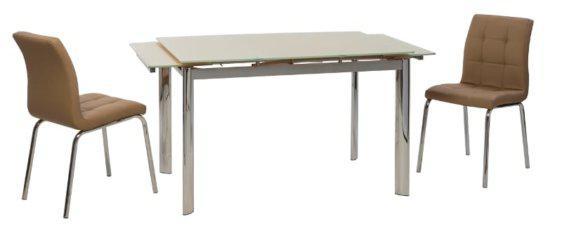 Τραπέζι Κουζίνας Γυάλινο V-123006