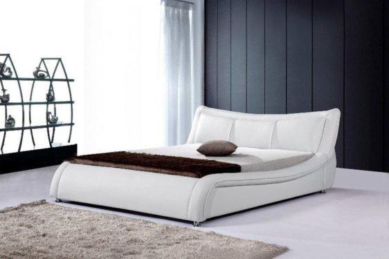 Λευκό Κρεβάτι Ντυμένο V-050455